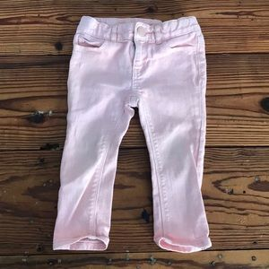 Baby gap pink jeans 18-24
